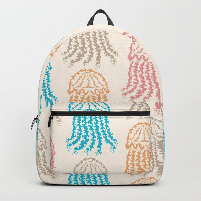 Pastel Marine Pattern 02 Backpack