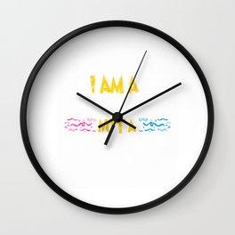 Clown I Am A Ccomedian Not A Clown (2) Wall Clock