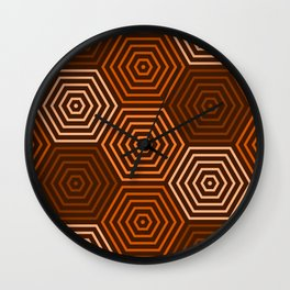 Op Art 36 Wall Clock