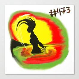 Woman, #473 Canvas Print