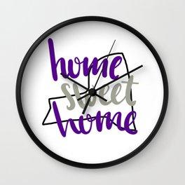 Home Sweet Home New York Wall Clock