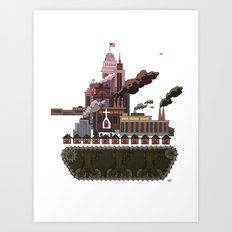 Military-Industrial Complex Art Print