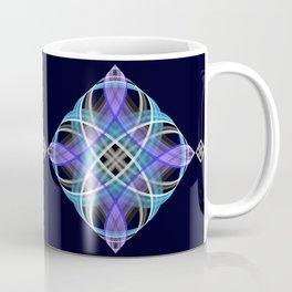 Four points geometric pattern design Coffee Mug
