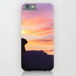 Sunrise 0972 Thor's_Hammer, Bryce_Canyon National Park iPhone Case