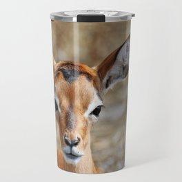Very young Impala - Africa wildlife Travel Mug