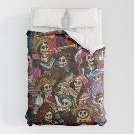 Dia De los Muertos Comforters