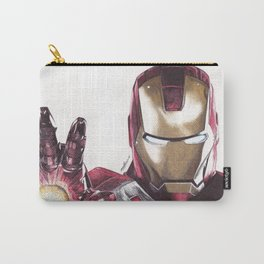 Iron Man Pen Drawing Carry-All Pouch