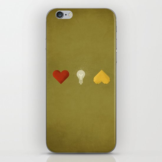 Oz  - NO TEXT iPhone & iPod Skin