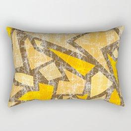 Aged terrazzo 5.1 Rectangular Pillow