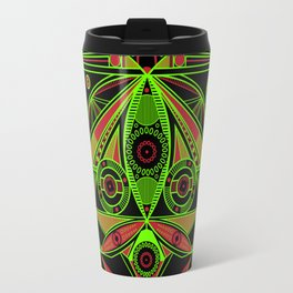 The third eye (Black) Travel Mug
