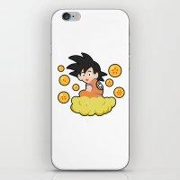 goku iPhone & iPod Skins featuring Goku by CmOrigins