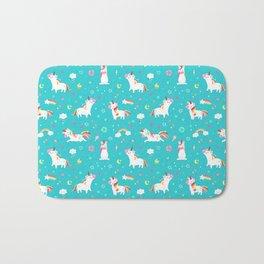 Unicorns Bath Mat