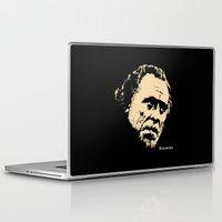 bukowski Laptop & iPad Skins featuring Bukowski#! by f_e_l_i_x_x