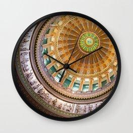 Renaissance Architecture Wall Clock