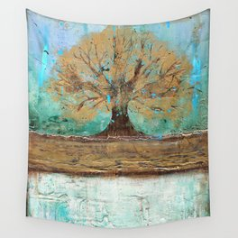 Summers Roots Wall Tapestry