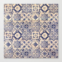 Ornamental pattern Canvas Print