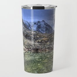 Mont Blanc Glacier Lake Travel Mug