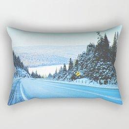 Looking Back. Landscape Photograph Rectangular Pillow