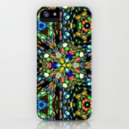 Marvelous Marbles in Motion iPhone Case
