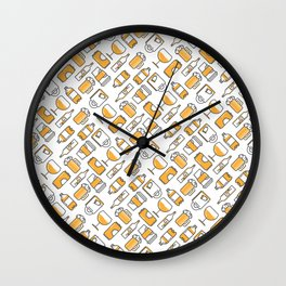 Drinks Wall Clock