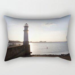 Leith Lighthouse Edinburgh Rectangular Pillow