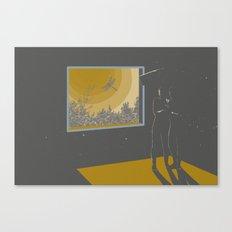 Morning halucination Canvas Print