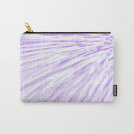 Lavender. Pixel Wind Carry-All Pouch
