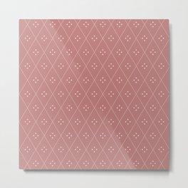 Mae Pattern XX Metal Print