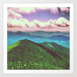 mt. carrigan Art Print
