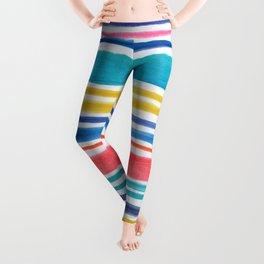 Sunny Day Stripes Leggings