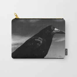 Raven Portrait at the Cliffs of Moher Carry-All Pouch