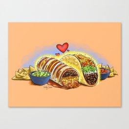 Tacos and Burritos Canvas Print