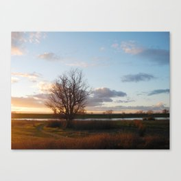 IT IS THE EVENING OF THE DAY Canvas Print