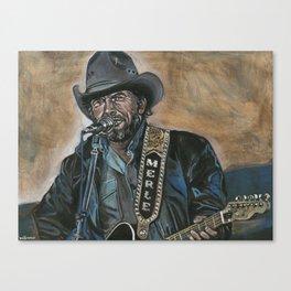 Haggard Canvas Print