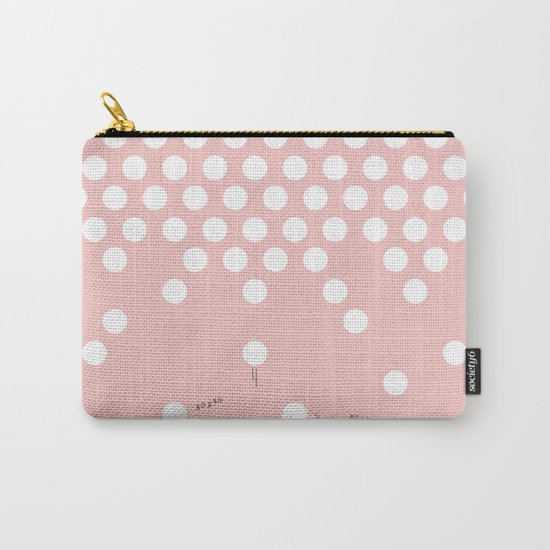 polka dots bounce Carry-All Pouch