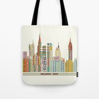 atlanta Tote Bags featuring Atlanta by bri.buckley