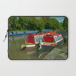 Narrowboats at Devizes Laptop Sleeve