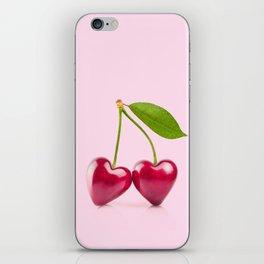 CHERRY LOVE iPhone Skin