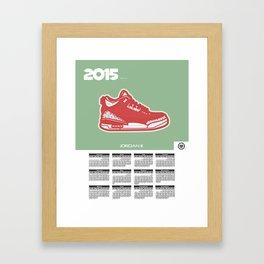 2015 Calendar  Framed Art Print
