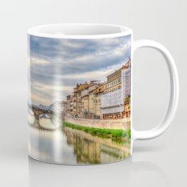 Arno River and Ponte Vecchio, Florence Coffee Mug
