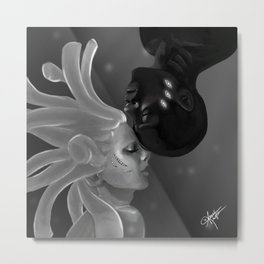 The Only Fish In The Sea Metal Print
