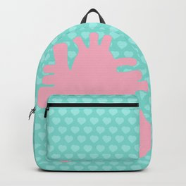 Real Pastel Heart Backpack