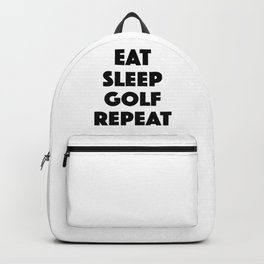 Eat Sleep Golf Backpack
