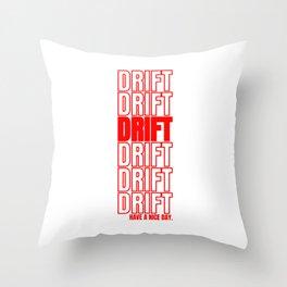Drift Drifting Drifter Tuning Car Gift Throw Pillow