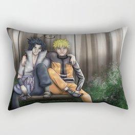 Brothers: Naruto and Sasuke Rectangular Pillow