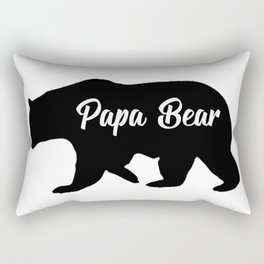 papa bear Rectangular Pillow