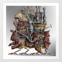 Howling Castle #2 Art Print