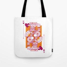 Delirium King of Hearts Tote Bag