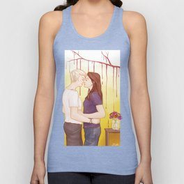 Amber and Reese Unisex Tank Top