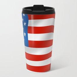 American flag Travel Mug